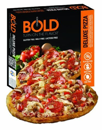 Bold Organic Deluxe Pizza, 14 Ounce -- 12 per case. by Bold Pizza