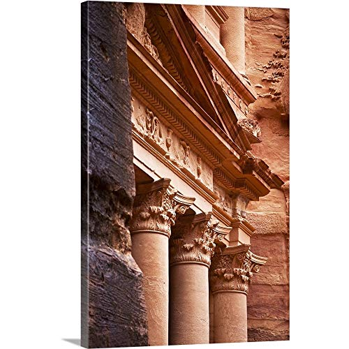 (Great Big Canvas Gallery-Wrapped Canvas Entitled The Treasury, Petra 40
