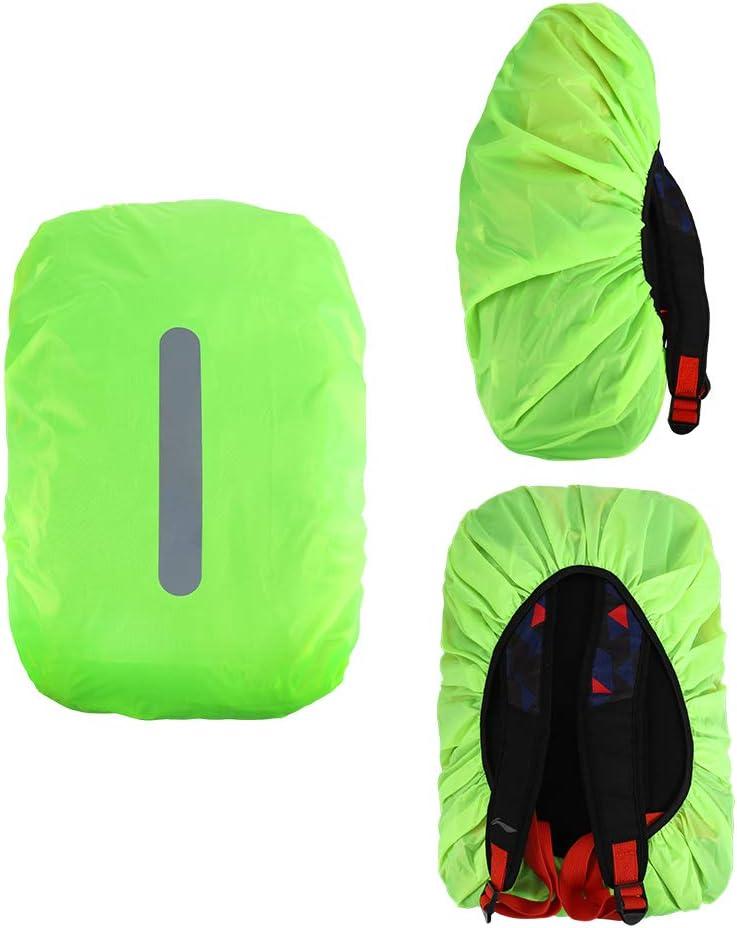 Camping Actividades al Aire Libre S L 30L-40L 25L-29L Viajes FANCYLEO EU 2 Pack Impermeable Mochila Cubierta de Lluvia con Tira Reflectante para Senderismo 41L-55L M