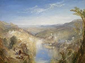 Joseph Mallord William Turner - Modern Italy The Pifferari, Size 24x32 inch, Canvas Art Print Wall décor