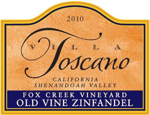 Zinfandel Old Vine (2013 Villa Toscano Winery Fox Creek Vineyard Old Vine California Shenandoah Valley Zinfandel 750)