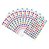 Pack of 960pcs 1cm Self Adhesive Assorted Colors