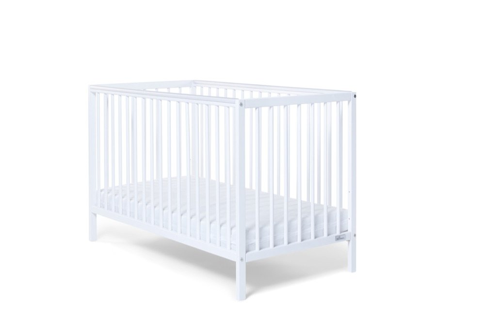 Baby Elegance Kim Cot, White Baby Elegance UK 2290