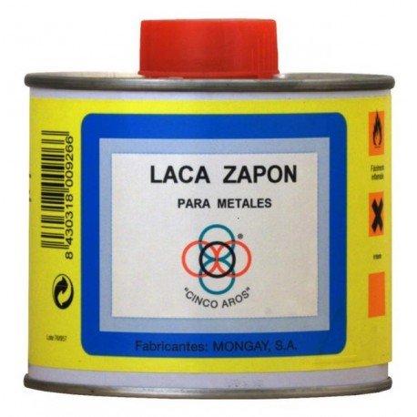 LACA ZAPON PARA METALES CINCO AROS MONGAY 500ML MONGAY SA