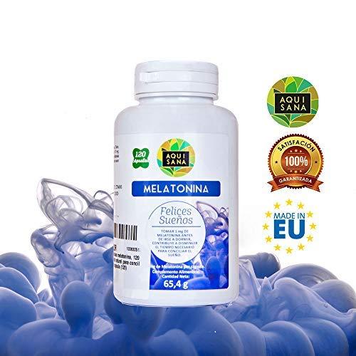 Melatonina ✓ Ayudar a Conciliar El Sueño ✓ Amapola californiana ✓ Pasiflora ✓ Valeriana ✓ Tila/Pack 2: Amazon.es: Salud y cuidado personal