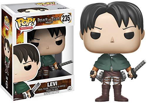 Funko POP Anime Attack on Titan Levi Ackerman Action Figure