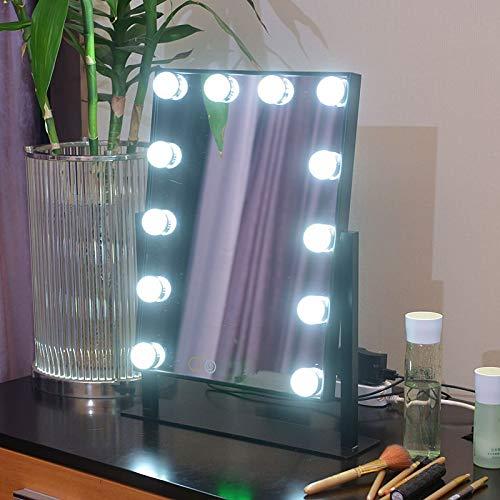 espejo para iluminar, espejo para baño Escritorio grande con ...