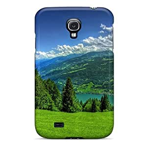 Durable Defender Case For Galaxy S4 Tpu Cover(spring)