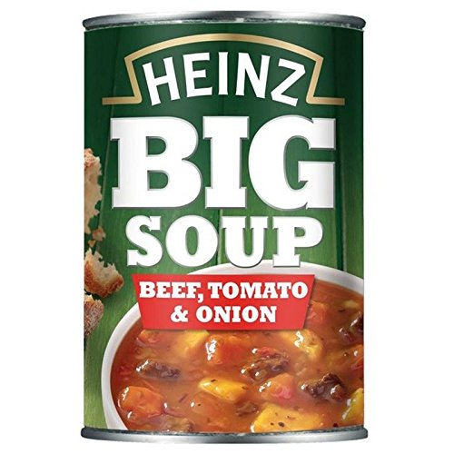- Heinz Big Soup Beef Tomato And Onion 400G