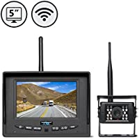 Rear View Safety RVS-155W Digital Wireless Backup Camera System with Furrion Prewire Adapter