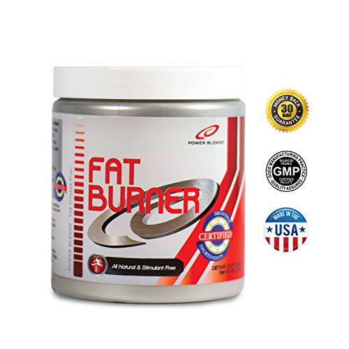 Fat Burning Smoothie Powder, Fat Burner by Power Blendz, Includes Chromium Picolinate, Pyruvate and a Natural L-Carnitine Weight Loss Blend, 100 servings