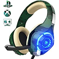 Gaming Headset for PS4 PC Xbox one, Beexcellent Stereo...