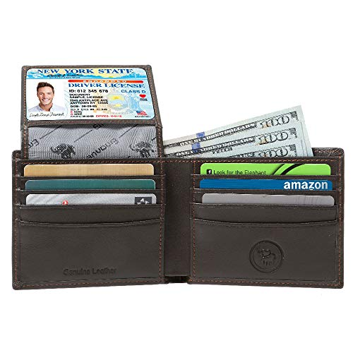 Mens Genuine Leather Wallet Blocking product image
