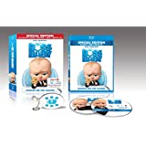 Special Edition The Boss Baby Blu-Ray DVD Digital HD and Talking Keychain