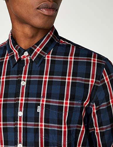 Blues Levi's Uomo Camicia Casual Sunset Shirt Blu Pocket 1 aspen 310 Dress wqy7BvqT