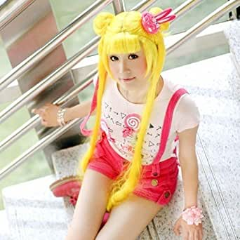 E-busienss New Arrival Long Sailor Moon Party Hair Cosplay Wig P30