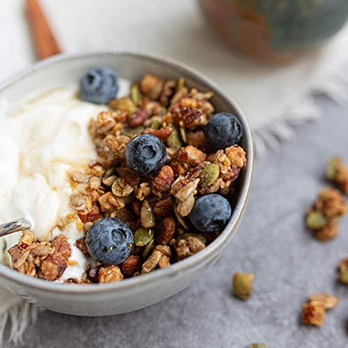 HighKey Keto Food Low Carb Granola Cereal & Clusters - Gluten Free Snacks & Breakfast Foods - Treats - Zero Added Sugar, High Protein Nut Snack - Diabetic, Paleo Healthy Diet Friendly Products 3