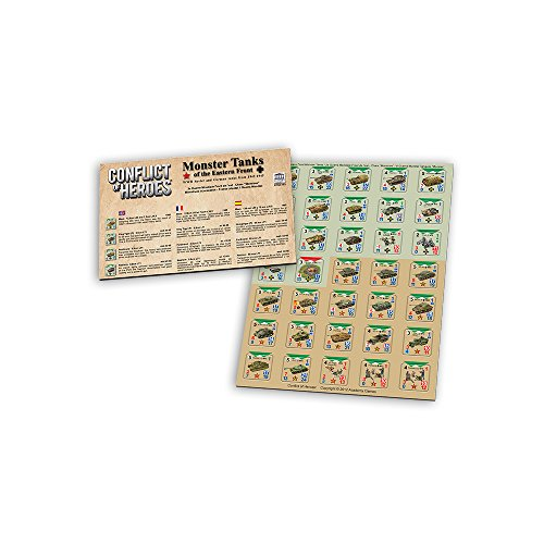 Academy Games Conflict of Heroes: Monster Tanks of the Eastern Front Expansion Counter Sheet