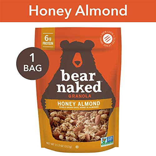 (Bear Naked Honey Almond Granola - Non-GMO | Kosher | Vegetarian Friendly - 11.2 Oz)