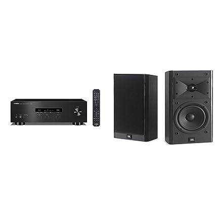 Yamaha R S202BL Stereo Receiver With JBL B15 Bookshelf Speakers