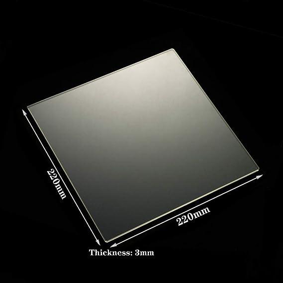 Amazon.com: Impresora 3D cuadrada de vidrio de borosilicato ...
