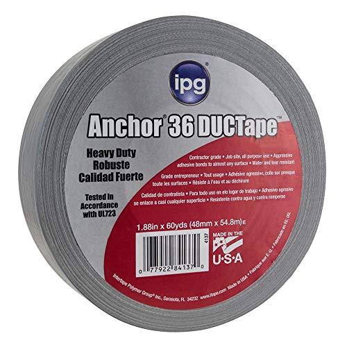 "IPG AC36 11 Mil Heavy Duty Duct Tape 1.88"" x 60 yd, Silver"