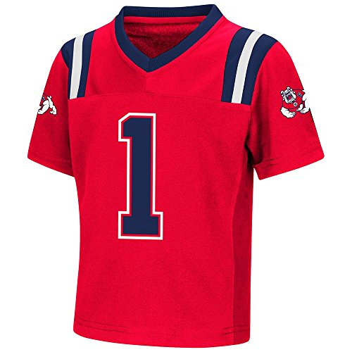 Colosseum Toddler Fresno State Bulldogs Football Jersey - 2T