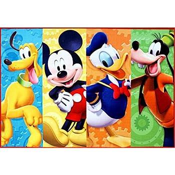 Nice Disney Mickey Mouse Clubhouse Rug HD Digital MMCH Kids Room Decor Bedding Area  Rugs 5x7,