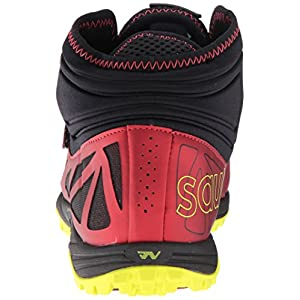 Saucony Men's Lanzar Jav2 Track and Field Shoe, Red/Citron, 13 Medium US