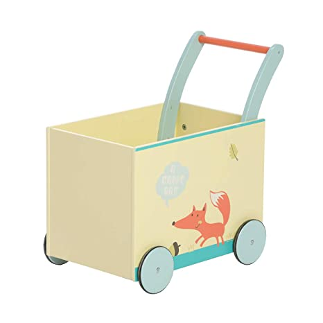 Bebé andador de madera por 1-3 Años - Zorro blanco,Educativo ...