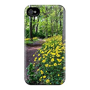 Anti-scratch And Shatterproof Forest Flowers Phone Cases For Iphone 6plus/ High Quality Cases
