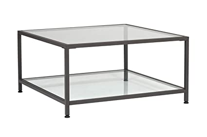 30 X 30 Square Coffee Table.Amazon Com Offex Home Camber 30 Modern Square Coffee Table In