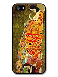 Klimt Hope II Painting Detail Case For Iphone 6 Plus 5.5 Inch Cover