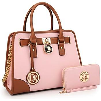 a34d0f96aa54 MMK women Handbag 2 pieces set Top handle satchel handbag matching wallet