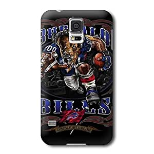 S5 Case,NFL Buffalo Bills Pattern Samsung Galaxy S5 Covers,Durable Hard Case Covers