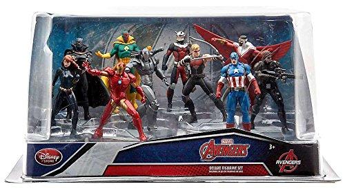 Disney Marvel Avengers Captain America: Civil War Exclusive 10 Piece PVC Figure Set