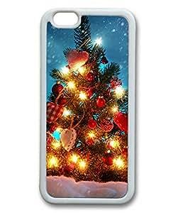 Beautiful Christmas Tree-2 Sakuraelieechyan iPhone 6 Plus (5.5 inch) White Sides Rubber Shell TPU Case