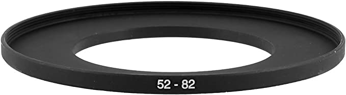 UK 52mm to 82mm 52-82 52-82mm 52mm-82mm Stepping Step Up Filter Ring Adapter