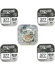 5 x Maxell SR626SW SR626 AG4 377 1.55v Watch Batteries