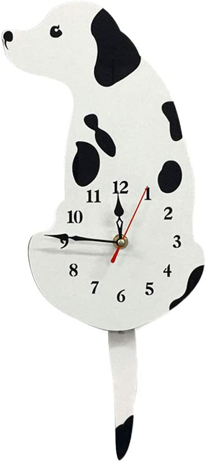 Cute Lovely Cartoon Tail Wagging Labrador Dog Silent Animal Decorative Time