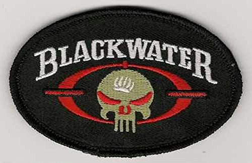 BLACKWATER PATCH PRIVATE MILITARY CORP SECURITY CIA FIREARM COFER SKULL PATCH VELCRO