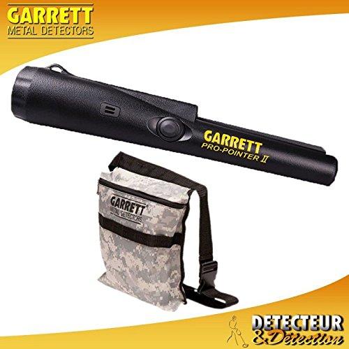 Garrett Metalldetektor Garrett Propointer + Tasche für Fundstücke