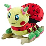 Rockabye Lulu Ladybug Rocker, Yellow