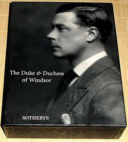 Sale 7000: The Duke and Duchess of Windsor September 11 - 19 1997 (The Duke And Duchess Of Windsor Sotheby)