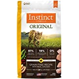Instinct Original Grain Free Recipe with Real Chicken Natural Dry Cat Food by Nature's Variety, 2.2 lb. Bag