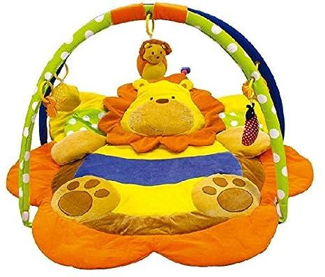Alfombras de juego y gimnasio para bebés, mantas de actividades león. Regalo bebé: Amazon.es: Bebé