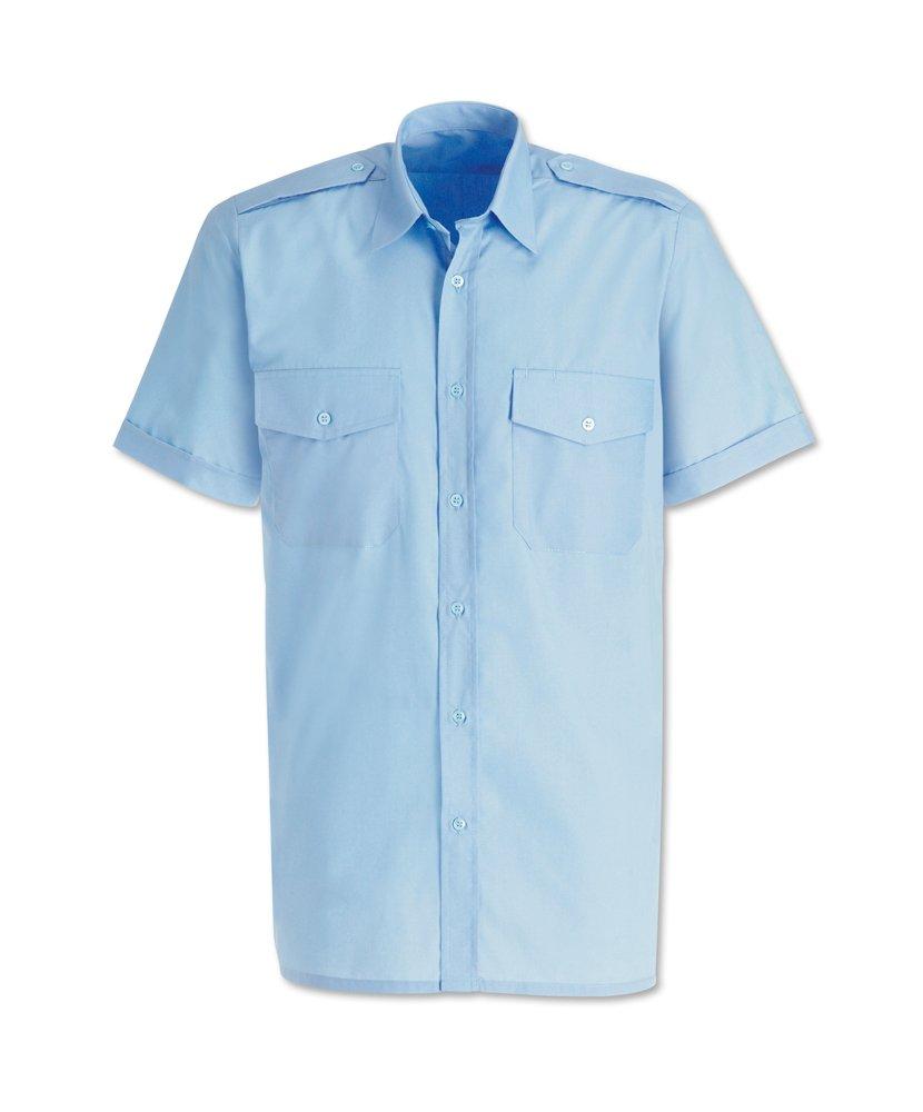 Alexandra stc-sg2pb-15 camisa de piloto para hombre, Plain, 65% poliéster/35% algodón, tamaño: 15, color azul claro: Amazon.es: Industria, empresas y ciencia