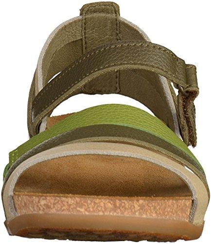 El Naturalista NF42 Womens Sandals Green GEk7Z