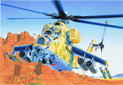1:72 Mil-24 Hind Helicopter Model Kit