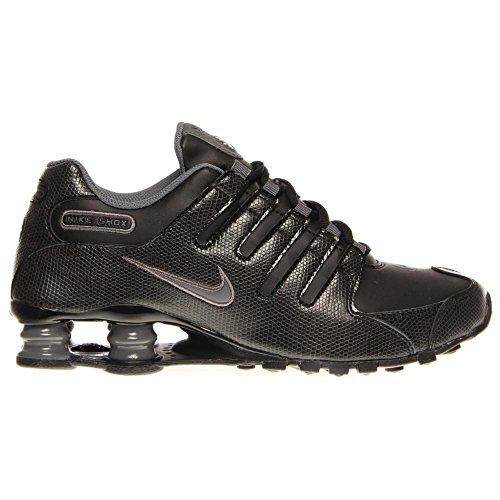 Nike Shox NZ EU Women Round Toe Leather White Running Shoe